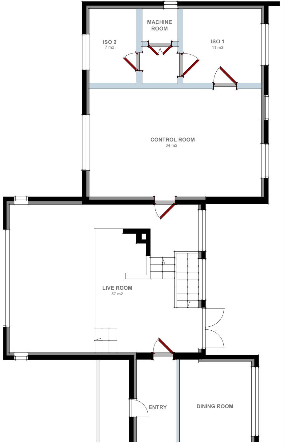 Upper Floor Layout